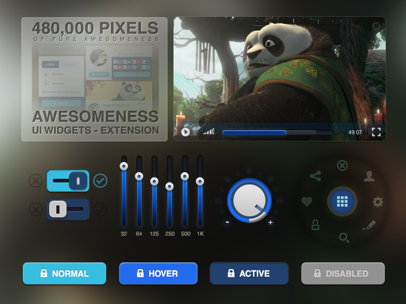 awesomeness-ui-widgets-extension-free-psd